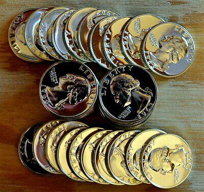 P Jefferson Choice//Gem BU Roll 40 US Coins 1998