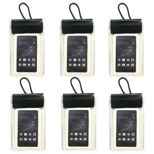 6x-Smartphone-Brustbeutel-Handytasche-Umhaengebeutel-Smartphone-Handy-Schutzhuelle