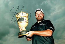 Shane LOWRY SIGNED AUTOGRAPH Gary Player Cup Golf Winner 12x8 Photo AFTAL COA