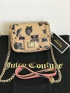 Image is loading NWT-JUICY-COUTURE-Mini-Wild-Thing-Leather-Crossbody- 300075da684b1