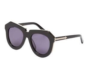 79140e8196e3 Image is loading Karen-Walker-ONE-MEADOW-Sunglasses-Alternate-Fit-Black-