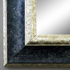 Spiegel antik barock acta schwarz siber wandspiegel badspiegel flurspiegel 6 7 ebay - Barock spiegel schwarz ...