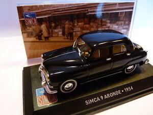 SIM8F-voiture-altaya-IXO-1-43-SIMCA-SIMCA-9-aronde-1954