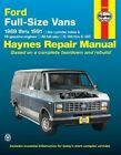Ford Full-size Vans Automotive Repair Manual by Curt Choate, J. H. Haynes (Paperback, 1988)