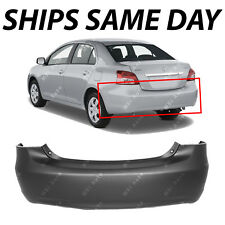 Fits Toyota Yaris Sedan 07-12 Rear Bumper Local Pickup Painted ToMatch TO1100249