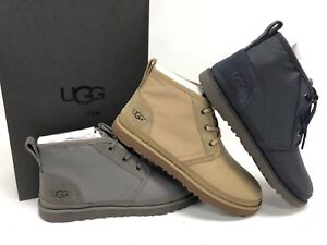 b2a2c5d33ec Details about UGG Australia Men's Neumel Ripstop Sneaker True Navy Antilope  Charcoal 1092210