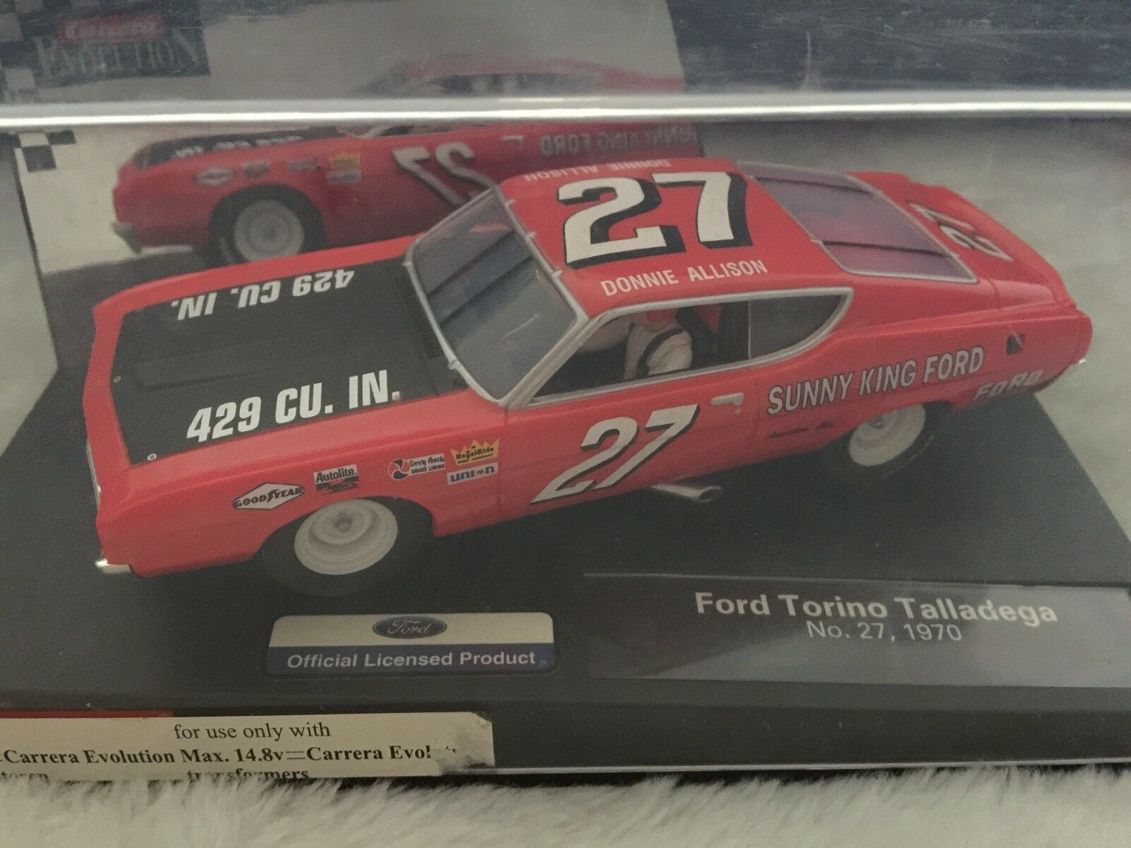 Carrera 25769 1969 Ford Torino sizedega Donnie Allison