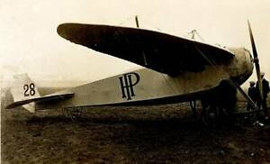 OLD-PHOTO-Early-Aviation-The-Handley-Page-Monoplane-Pictured-At-Hendon