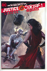Justice-League-VS-Suicide-Squad-1-Gabriele-Dell-039-otto-Color-Variant-Harley-Quinn
