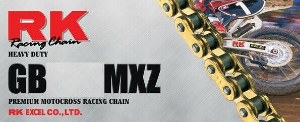420 Series 84-Links Standard Non O-Ring Chain with Connecting Link RK Racing Chain M420-84
