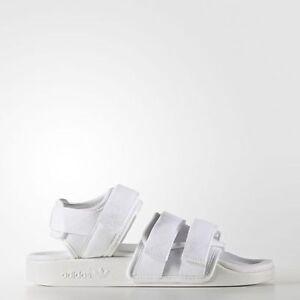 9550b11320ea49 Image is loading Adidas-BB5096-Women-slippers-slide-Adilette-sandals-white