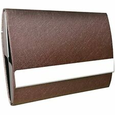 Business Card Holder By Oracle Grain Leather Case With Magnetic Shut To Keep