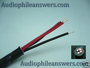 Details about DH Labs Silver Sonic Q-10 Signature Speaker Cable sold by the  Foot DIY