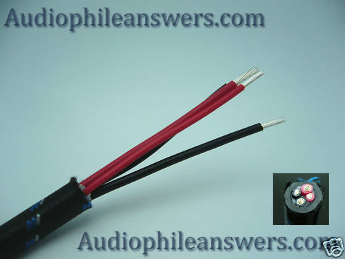 DH Labs Silver Sonic Q-10 Signature Speaker Cable sold by the Foot DIY