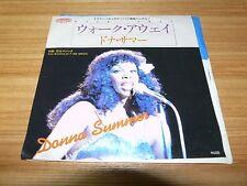 "DONNA SUMMER Walk Away JAPAN 7"" 6S-13"