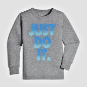 d5f4e601c Nike Baby Boys Nike Just Do It Pop Mezzo Long-Sleeve Tee 3T Dark ...