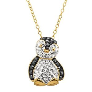 Penguin-Pendant-with-Crystals-in-18K-Gold-Plated-Silver