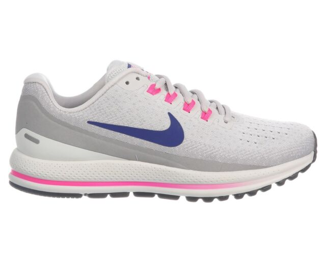 bcffadf18ea38 Frequently bought together. Nike Air Zoom Vomero 13 Womens 922909-009 Grey  Blue Pink Running Shoes ...