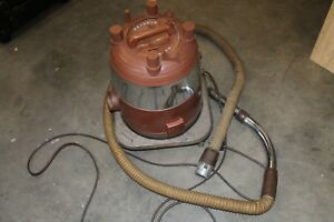 Vintage-Rexair-Rainbow-Vacuum-Canister-Model-D2-Stainless
