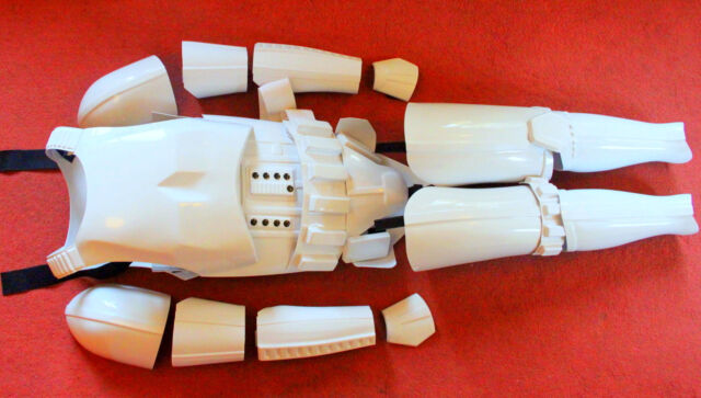STAR WARS STORMTROOPER ARMOUR COSTUME 1:1 FX INC GLOVES, FULLY ASSEMBLED!