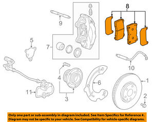 image is loading chevrolet-gm-oem-15-17-corvette-brake-front-