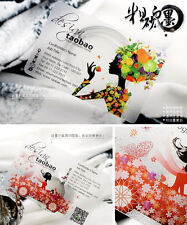 200 Full Color Frosted Transparent PVC Plastic Business Cards Print Design
