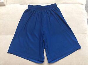 Boy-Under-Armour-Athletic-Light-Shorts-Size-Youth-Medium-Blue
