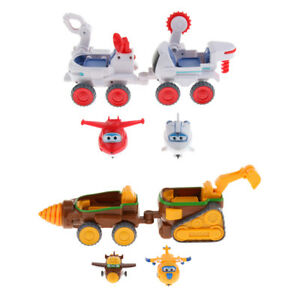 Super-Wings-Robot-Vehicle-Playset-Animation-Character-Toy-Kids-Xmas-Gift