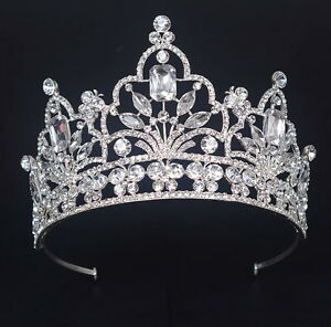 Wedding Bridal Bridesmaid Prom Beauty Pageant Tiaras Crystal Butterfly Tiara