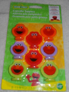 Elmo-Birthday-Party-Cake-Cupcake-Toppers-Sesame-Street-Decorations-Wilton-Brand