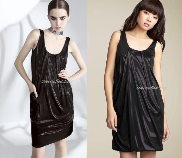 2ca612c565f Diane Von Furstenberg Lesley Liquid Jersey Dress Black 4 for sale ...