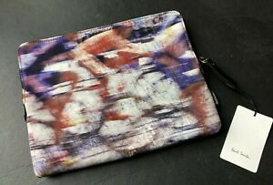Paul Smith Blurred Cyclist Document Pouch 11 inch MacBook Air Case Ipad