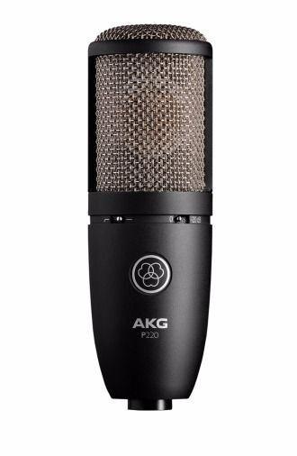 AKG-P220- AKG P220 Studio Condenser Microphone