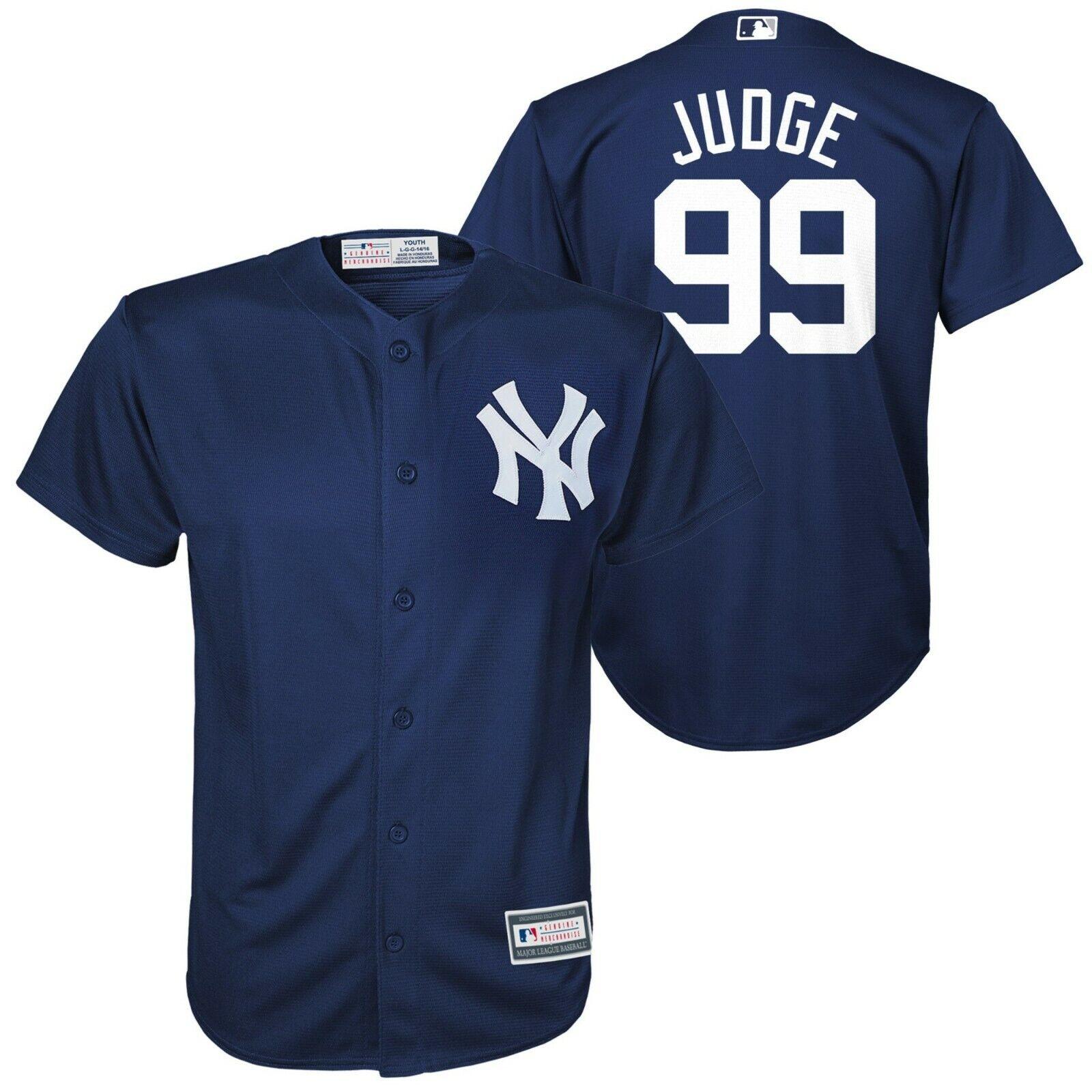 Aron Richter New York Yankees  99 Jugendliche Majestic Majestic Majestic Cool Base Trikot Eu S M L 2d37be