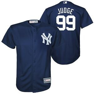 Aaron-Judge-New-York-Yankees-99-YOUTH-Majestic-Cool-Base-Jersey-Size-S-M-L-XL