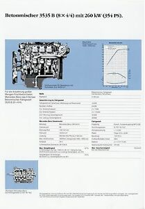 Mercedes-3535-B-8x4-4-Betonmischer-Prospekt-Technische-Daten-Datenblatt-Lkw-data