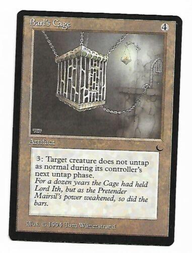 Magic The Gathering ~ 1x Barl/'s Cage ~ The Dark ~ M//NM