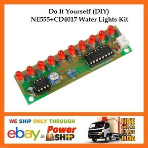 E59 diy ne555 cd4017 electronic led running water lights do it image is loading e59 diy ne555 cd4017 electronic led running water solutioingenieria Images