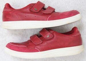 2 à Twelve sangles En Vintage Cuir Red Chaussures 12 Freiziet Adidas lacets Hommes wqO68zZ