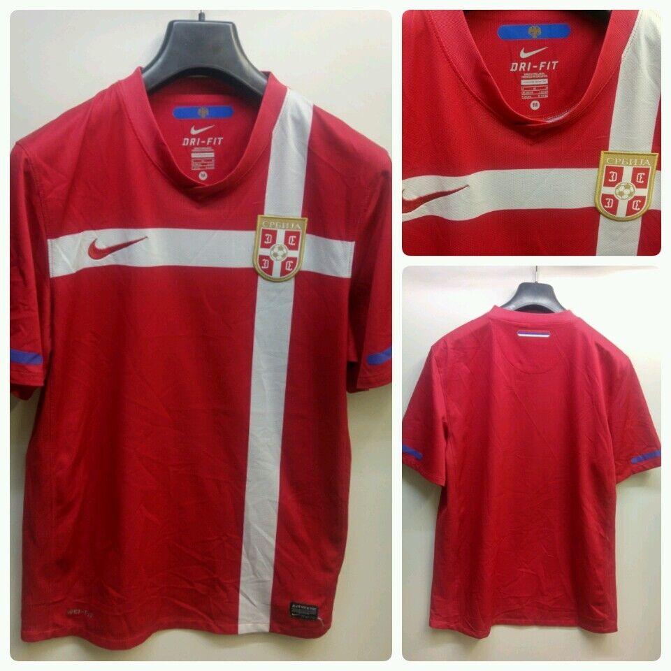 Maglia calcio Serbia nike vintage .shirt camiseta soccer Serbia