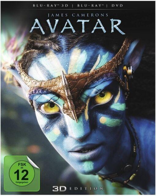 Avatar - Aufbruch nach Pandora 3D Blu-ray inkl. 2D Blu-ray + DVD NEU OVP