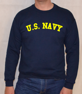 U-S-NAVY-NAVY-YELLOW-LOGO-ARMY-US-MARINES-FORCES-SWEATSHIRT
