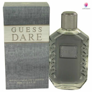 Guess Dare Cologne Perfume Men 34 Oz 100ml Men New In Box Eau De