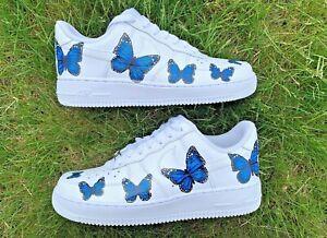air force 1s butterflies