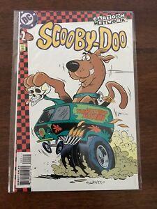 Cartoon-Network-Scooby-Doo-2-Comic-Book-Sept-1997-DC-Comics-FREE-bag-board