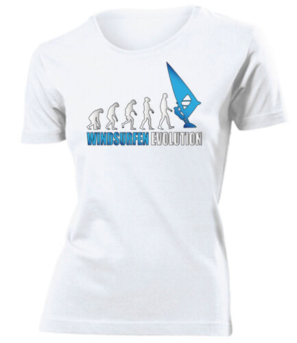 WINDSURFEN EVOLUTION T-Shirt Damen S-XXL