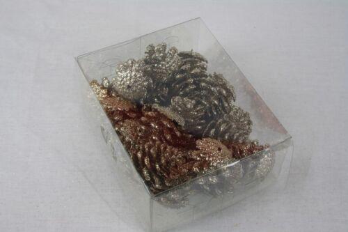 24 loose paillettes pin cônes guirlande de noël guirlande décoration