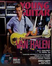 Young Guitar Magazine March 2012 Japan Van Halen Judas Priest Firewind
