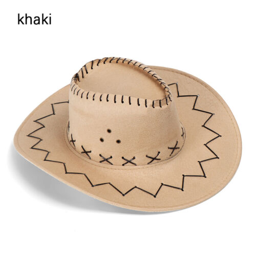 2019 Western Cowboy Hat Unisex Men Women Riding Cap Fashion Accessory Gift