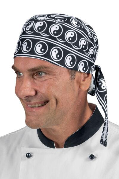 2019 úLtimo DiseñO Bandana Cocinero Yin Yang Isacco Made In Italy 100% Algodón Rubac Monterrey 두건 Precio Loco